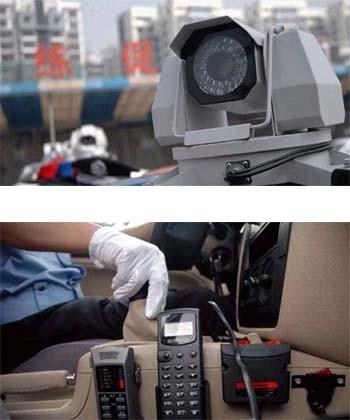 360°旋转摄像头装上110新坐驾