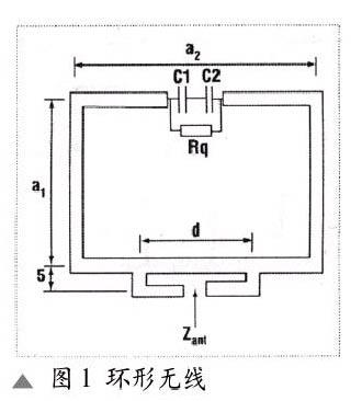 天线可直接印制在电路板上,也有现成的片式介质天线(2mm×5mm),主要