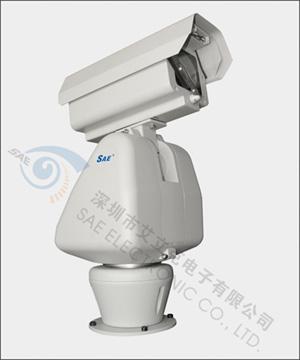 内置多协议解码器,云台,带一体化光学组件( iop )的防护罩; ● 摄像机