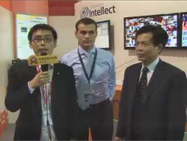 上海安防电子视频专访