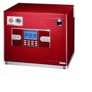 电子密码保险箱是指密码锁通过电路板来控制的;电子密码保险箱