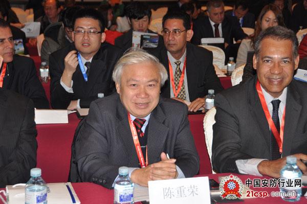 越南安防设备协会会长陈重永出席洽谈会