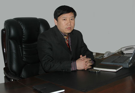 """山东科威达总经理薛兴阔""""平安城市""""推荐优秀工程企业专访"""