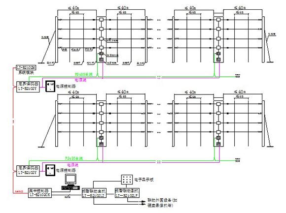 安全踏垫工作电路图