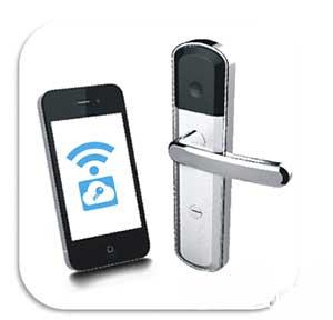 """手机拥有独立、无法被复制的""""钥匙""""信息,轻轻一点或者摇一摇就可"""